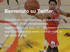I contenuti su Twitter