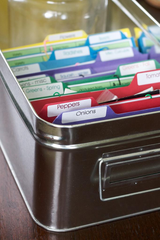 Organizzare cartelle e documenti