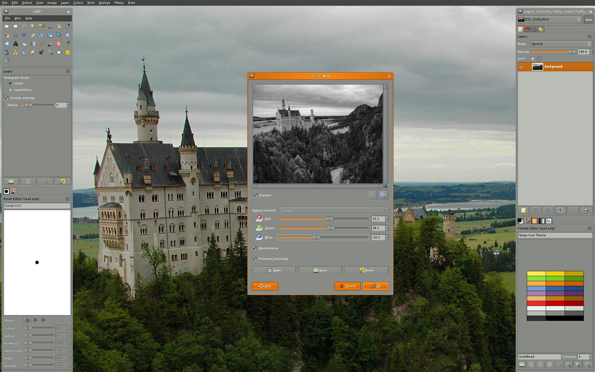 GIMP is the GNU Image Manipulation Program