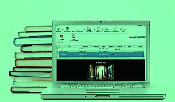 Calibre eBook management