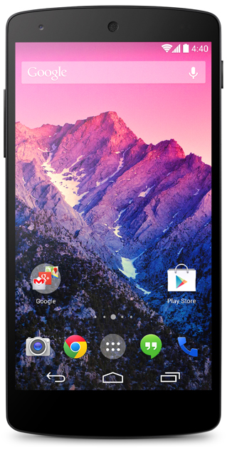 Google Nexus 5 - LG SmartPhone