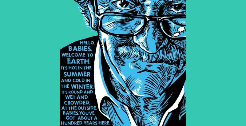 Kurt Vonnegut Jr. - Scrittore e saggista statunitense