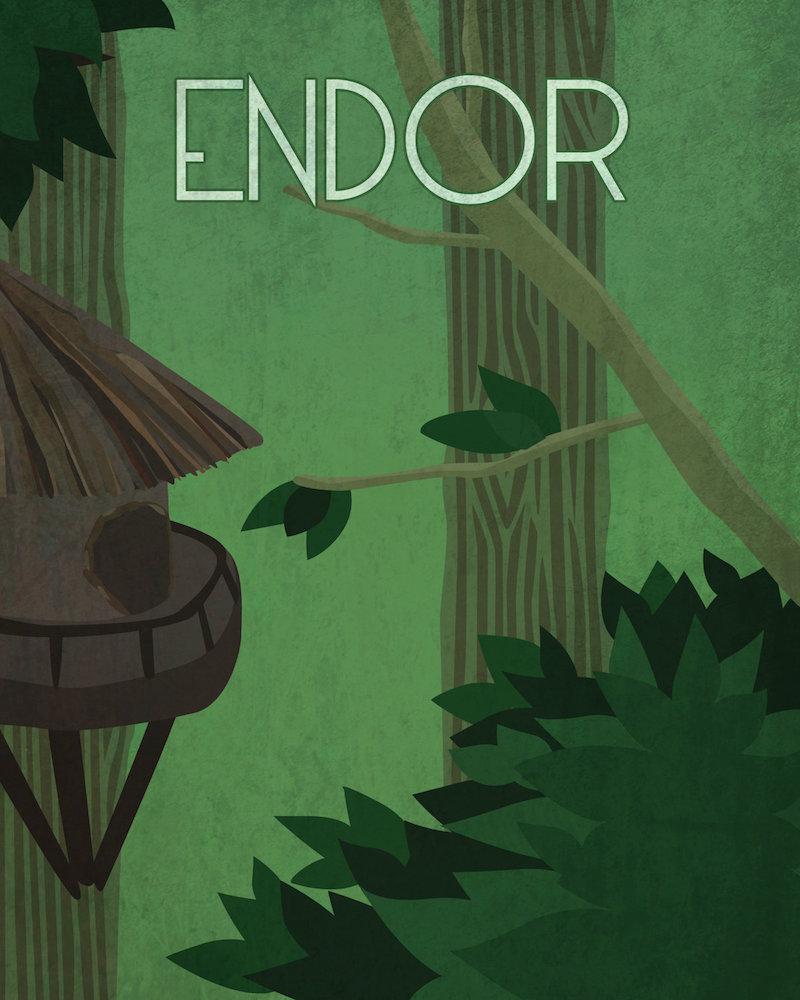 Sulla luna boscosa di Endor, un mondo da scoprire