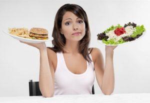 Mangiare cibi sani è una regola fondamentale