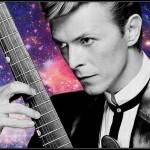 David Bowie Space fatto con Pixlr