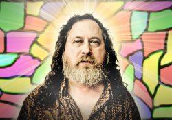 Richard Stallman, uno dei principali esponenti del software libero