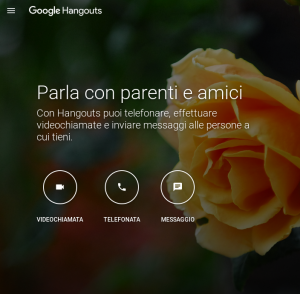 Con Hangouts, video di qualità e chiamate gratis verso gli Stati Uniti