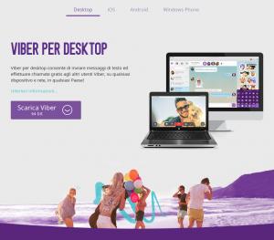 Comunicare e videochattare con eleganza grazie a Viber