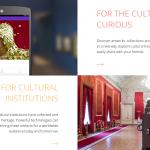 Arte e cultura riunite in una applicazione semplice da utilizzare e completa