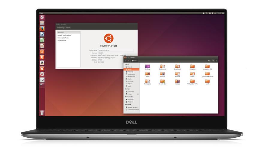 Ubuntu. Anche Dell ha scelto Linux
