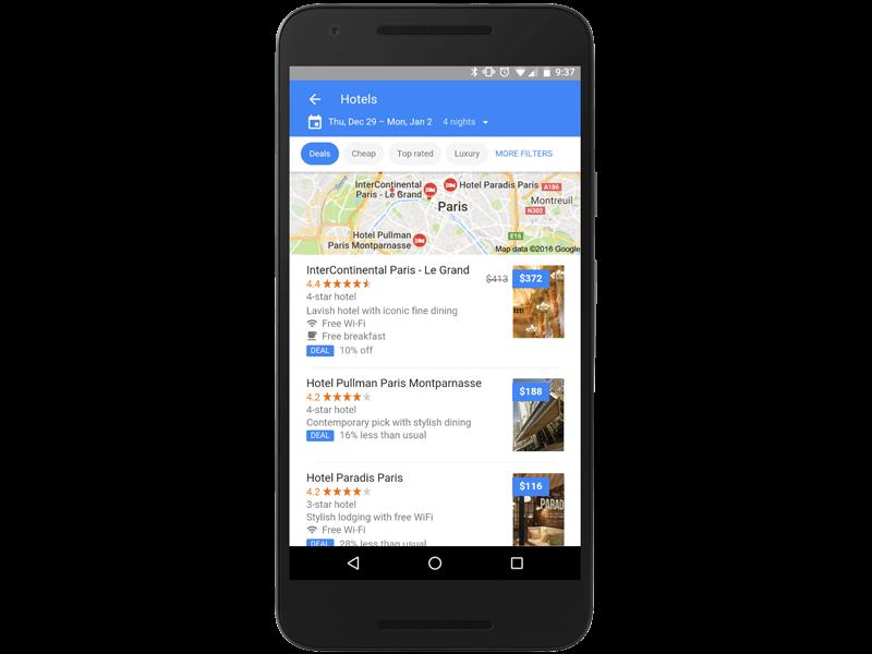 Google Flights. Anche hotels e sistemazioni di ogni genere a portata di mano con un click