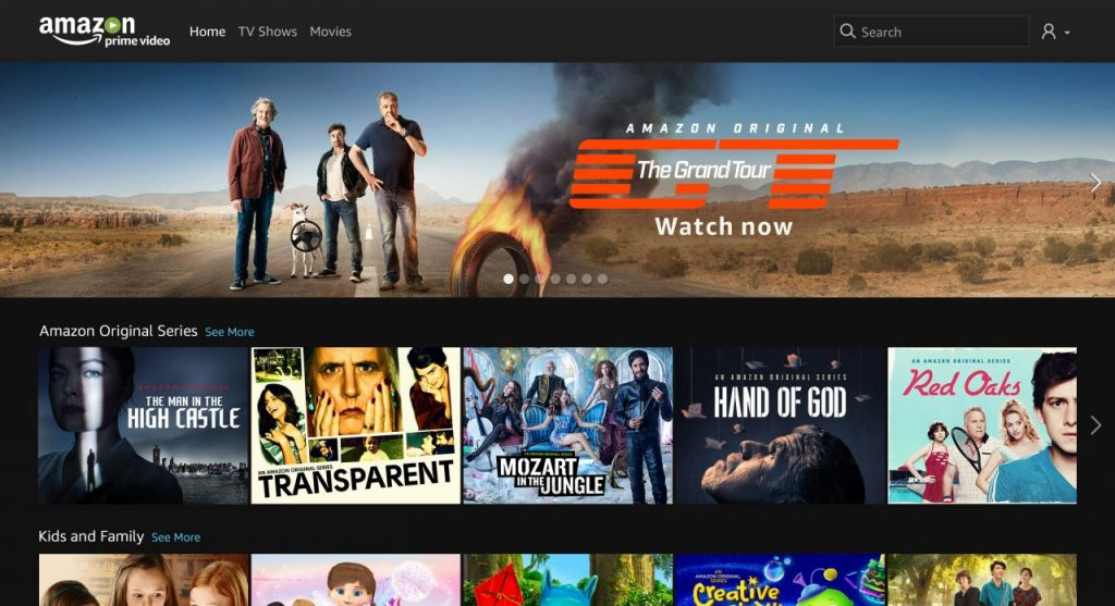 Amazon Prime Video. Una nuova scossa al panorama televisivo italiano