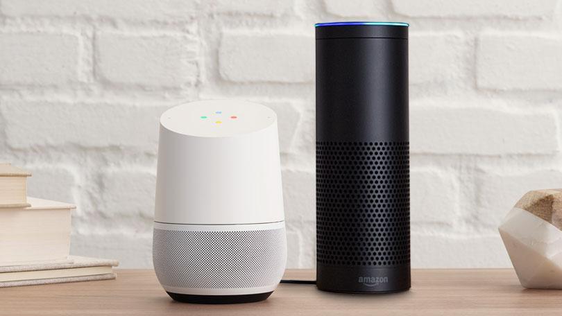 Google Home e Amazon Echo. I due protagonisti principali della nuova rivoluzione elettronica