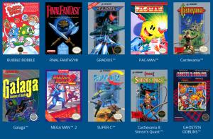 Nintendo Classic Mini: Giochi