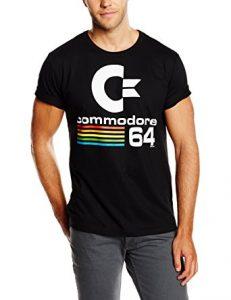 Per tutti i fan degli home computer, la splendida maglietta Commodore 64