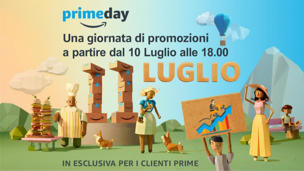 Amazon Prime Day. Una intera giornata di promozioni, anzi due