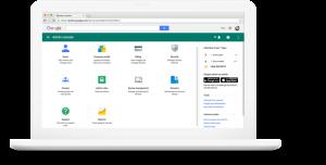 Email aziendale, videoconferenze, archiviazione online e condivisione di file