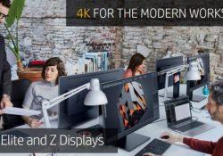HP annuncia i nuovi modelli di monitor 4K e una dock Thunderbolt per il business