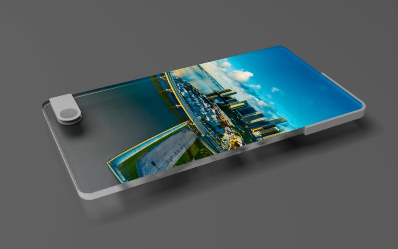 Samsung, il Galaxy X con lo schermo pieghevole mostrato
