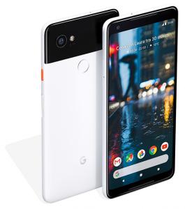 Google Pixel 2 XL. Stringi i lati per attivare l'Assistente Google