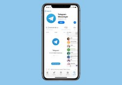 Telegram su Apple iPhone X