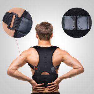 Isermeo correttore posturale schiena con supporto traspirante