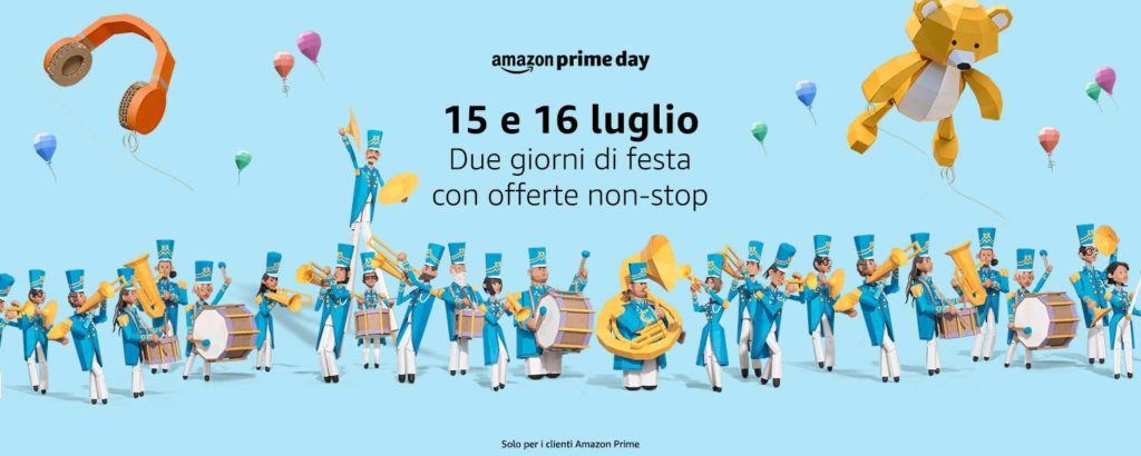 Amazon Prime Day 2019 - Due giorni di festa con offerte non-stop